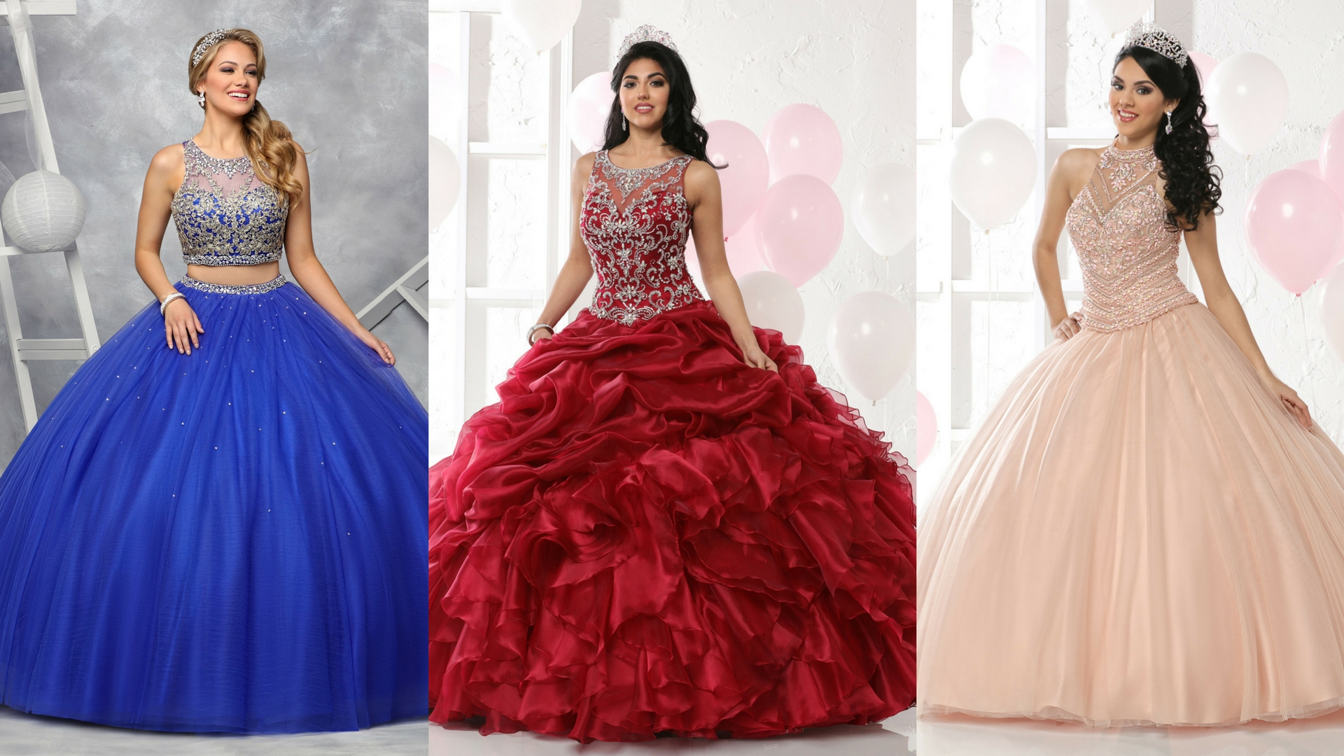 2017 Special Part One: 9 Modest Quinceanera Gowns with Style! | Q ...