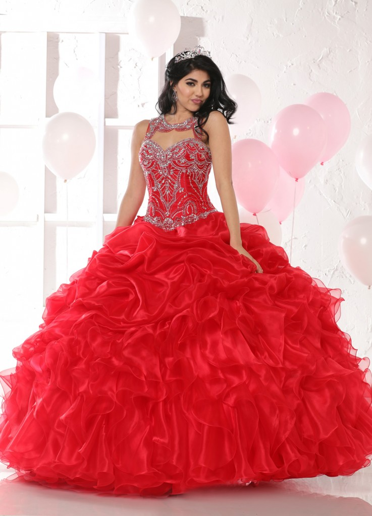 30276b5c898 2017 Special Part One  9 Modest Quinceanera Gowns with Style!