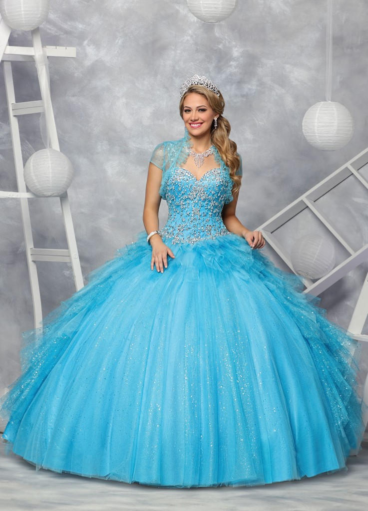 Move Over, Elsa: 10 Ice Blue Dresses for Your Winter Quince | Q By ...