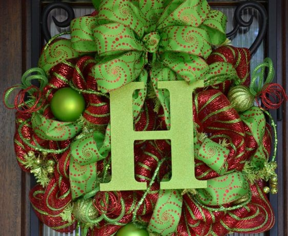 Easy 10 Step Lime Green & Red Holiday Quince