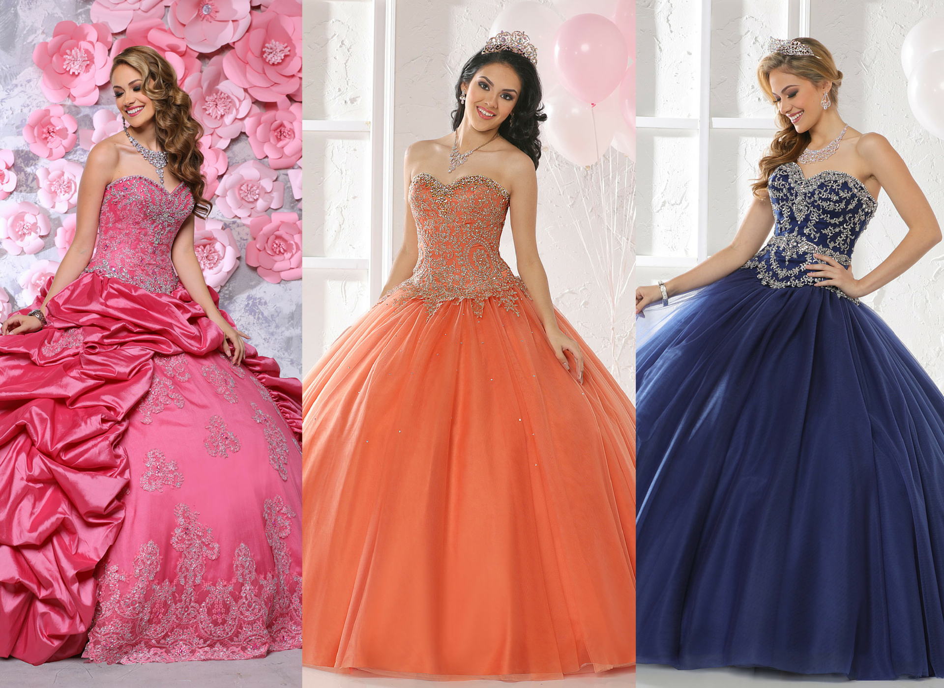 dresses friends wear to a quinceanera