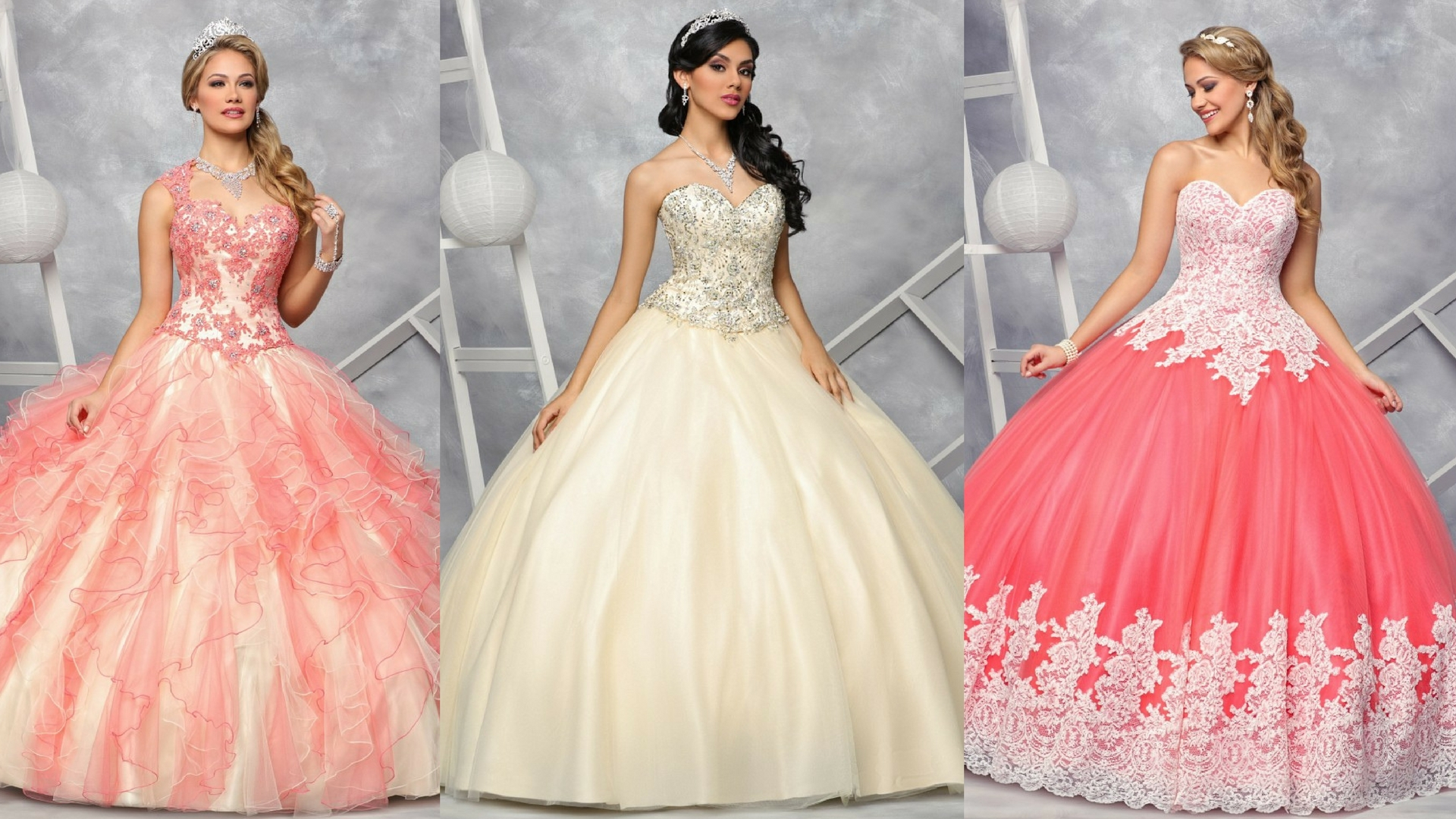 Hot Off the Runway Part 2: 9 More Gorgeous Quinceanera Gowns for 2017