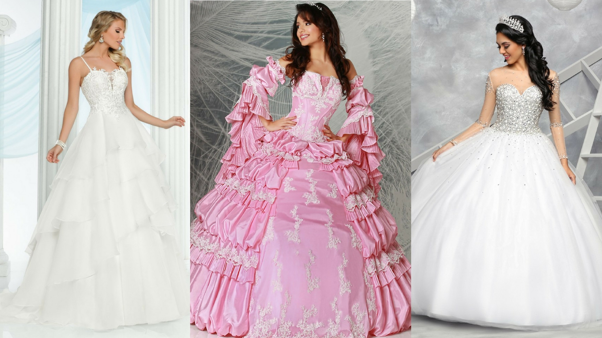 Elegant Hints & Hacks for a Beautifully Modest Quinceanera Gown | Q ...