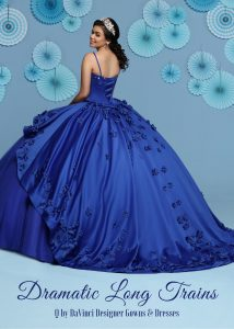 11 Quinceanera Dresses with Long Trains