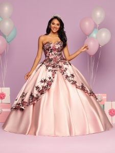 Embroidered Quinceanera Dress Style #80483