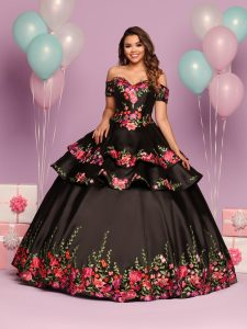 Embroidered Quinceanera Dress Style #80484