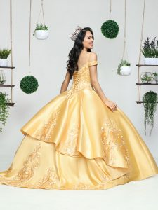 Q by DaVinci Style #80498 in Gold