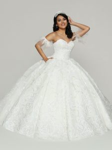 Embroidered Quinceanera Dress Style #80516