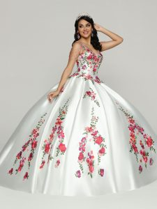 Embroidered Quinceanera Dress Style #80521