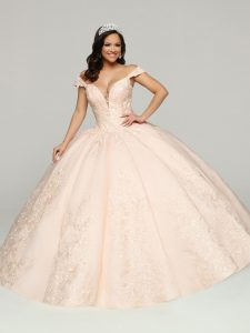 Blush Quinceanera Dress Style #80523