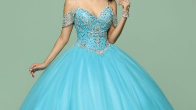 Aqua & Turquoise Quinceanera Dresses for 2021 – Q by DaVinci