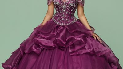 Beaded Charro Quinceanera Dresses