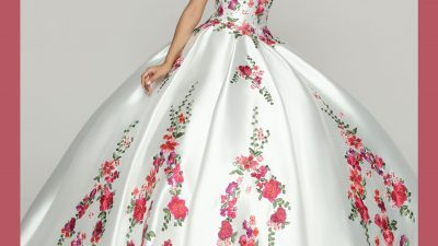 Embroidered Quinceanera Dresses for 2021-2022