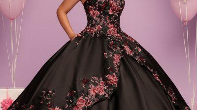 Floral Charro Quinceanera Dresses