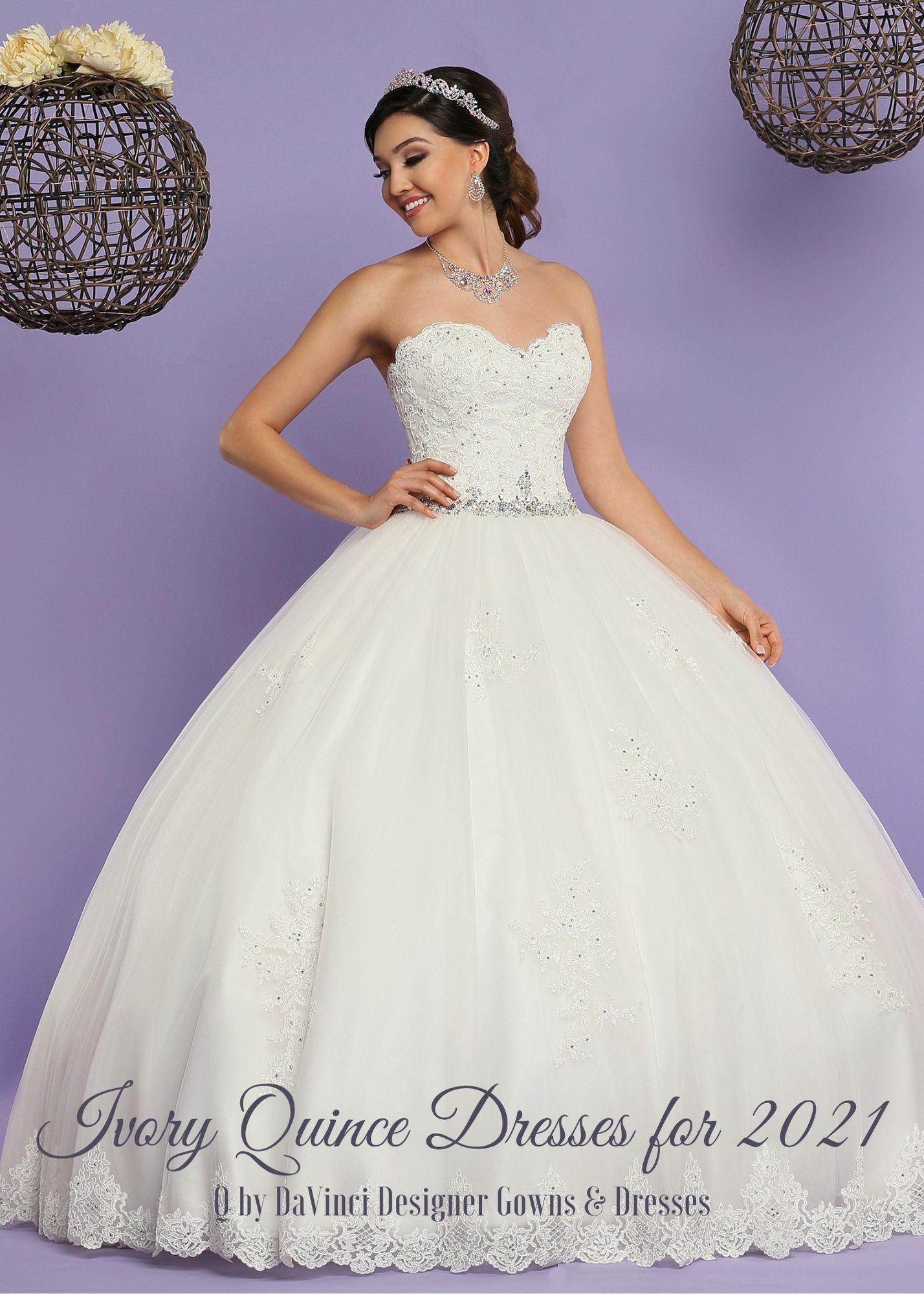 Ivory Quinceanera Dresses for 2021 – Q by DaVinci