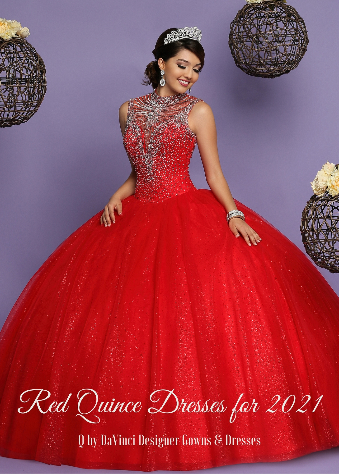 Red Quinceanera Dresses for 2021 – Q by DaVinci