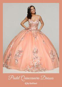 Pastel Quinceanera Dresses for 2021-2022