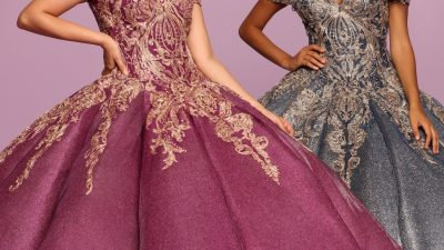 Quinceanera Dress Color Trends: Gold Beading & Embroidery