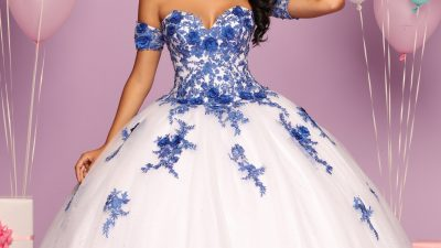 Quinceanera Dress Color Trends: 3D Flowers & Details