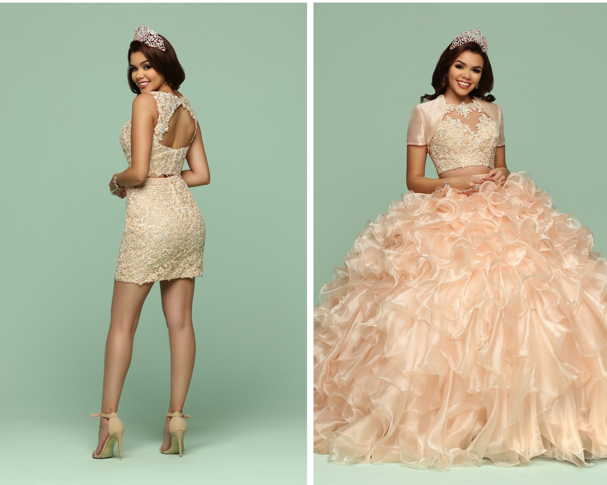 Quinceanera Dresses with Removable Skirts for 2021 – Q by DaVinci