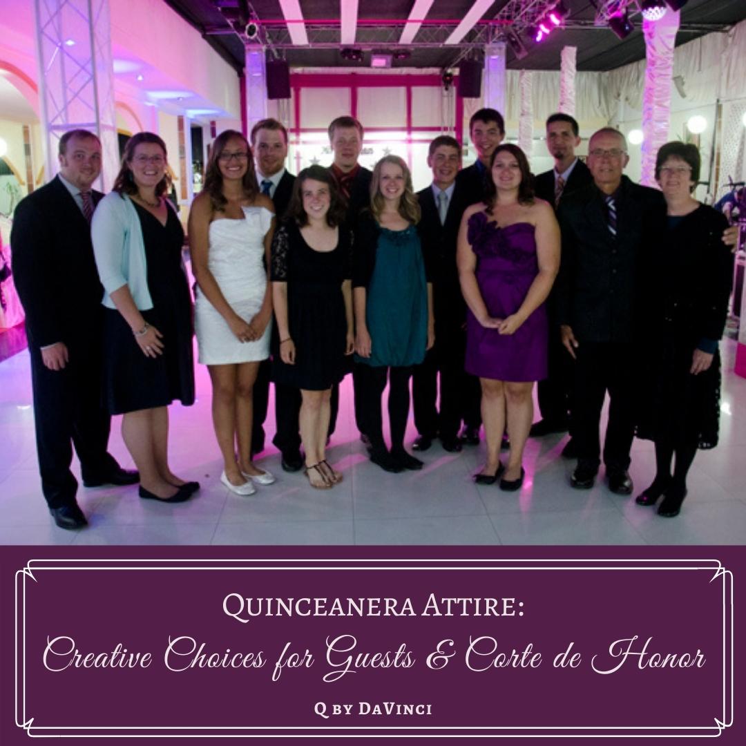 Quinceanera Attire: 6 Creative Choices for Guests & Corte de Honor