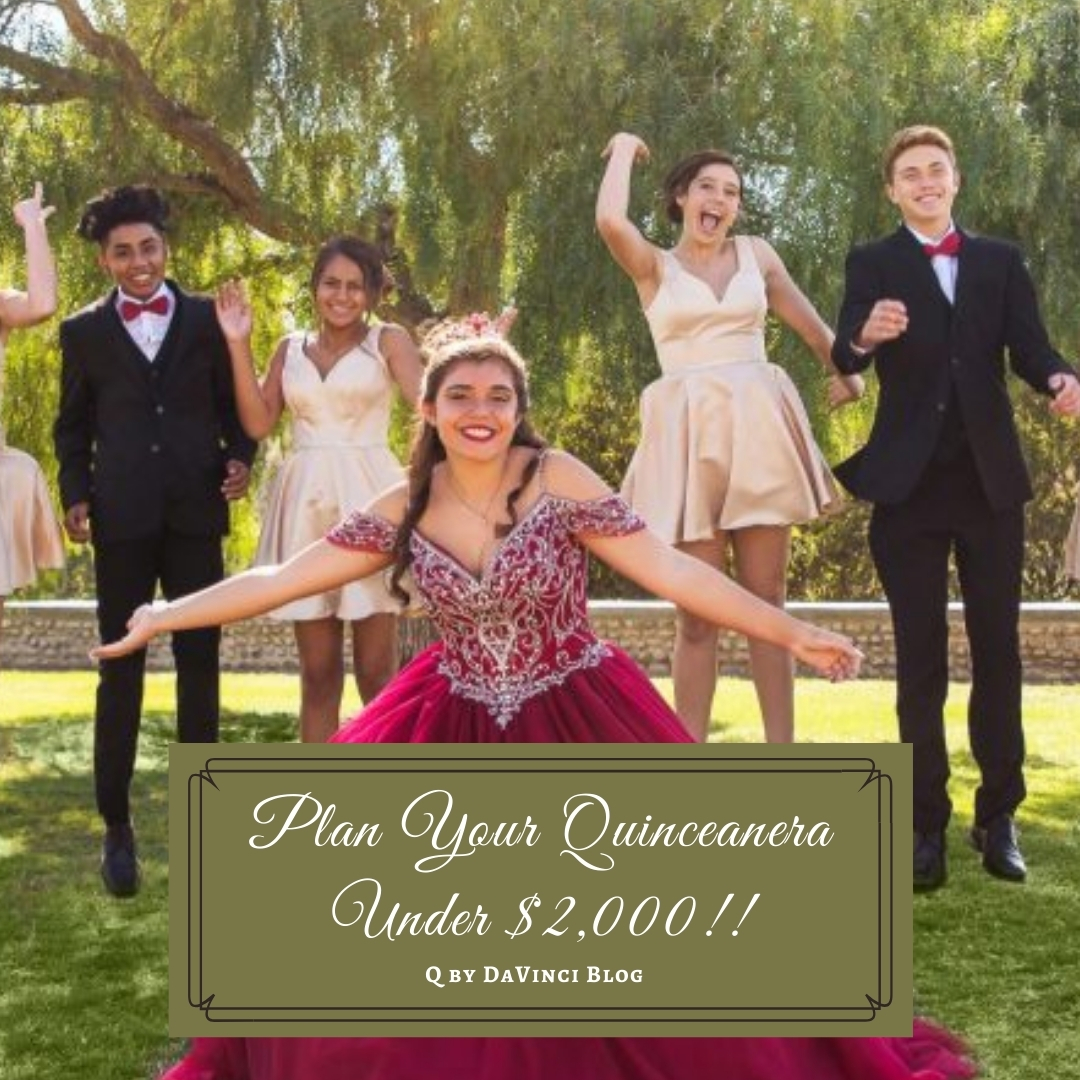 How to Plan a Quinceanera Under $2000