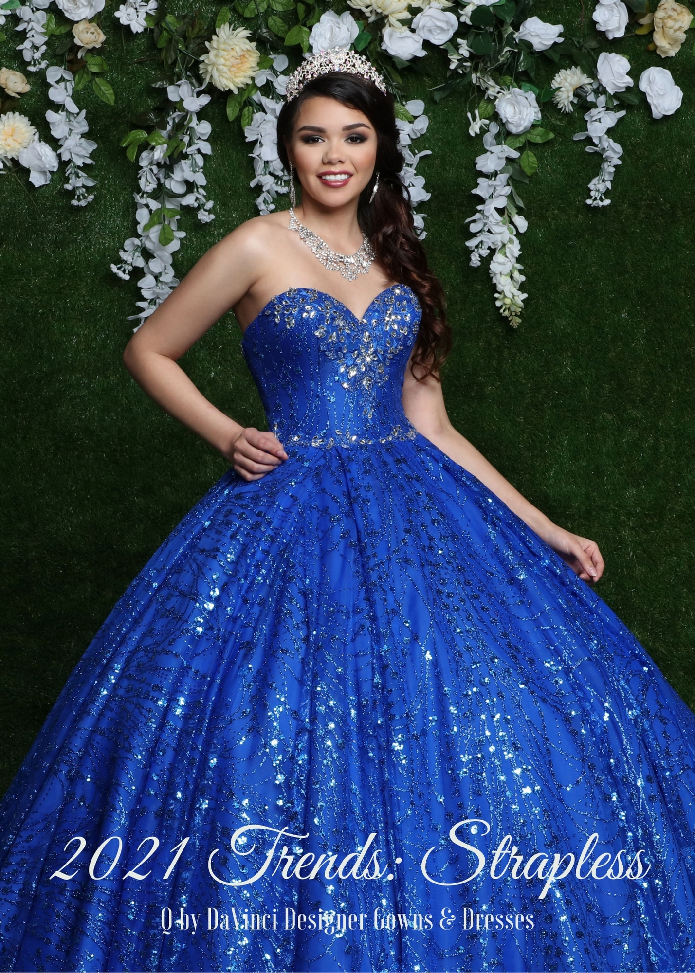 Quinceanera Style Trends 2021: Strapless Dresses