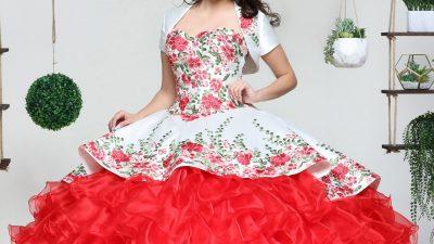 Red Charro Quinceanera Dresses