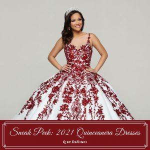 Sneak Peek 2021-Quinceanera Dresses