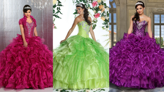 d64a3e3dcaf Your Quinceanera Dress  What the Colors Symbolize. Dresses