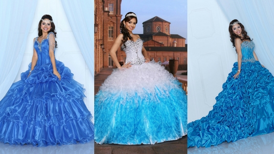 Move Over, Elsa: 10 Ice Blue Dresses for Your Winter Quince