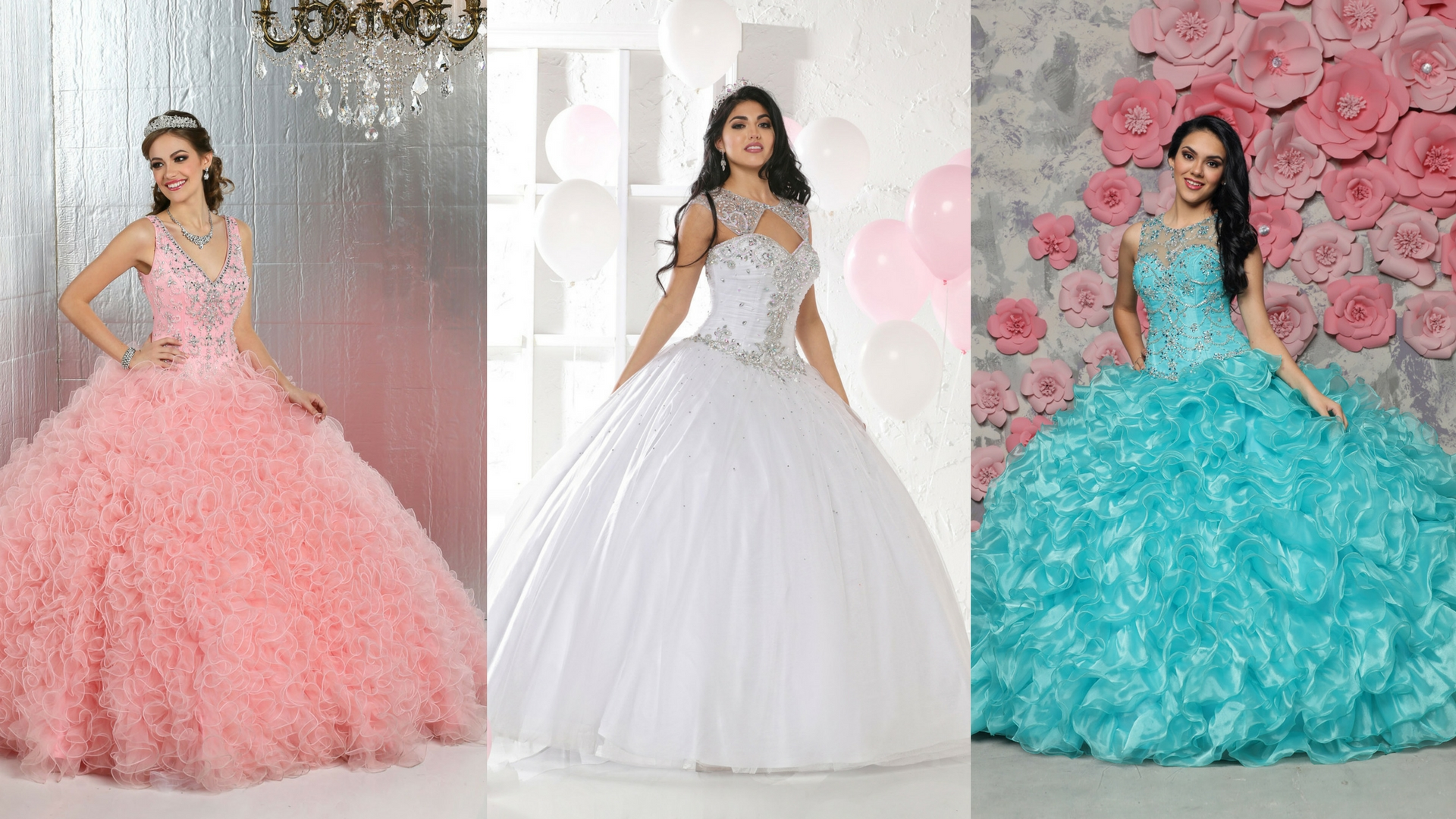 20da0ed262 2017 Special Part Two  9 More Quinceanera Gowns with Style!