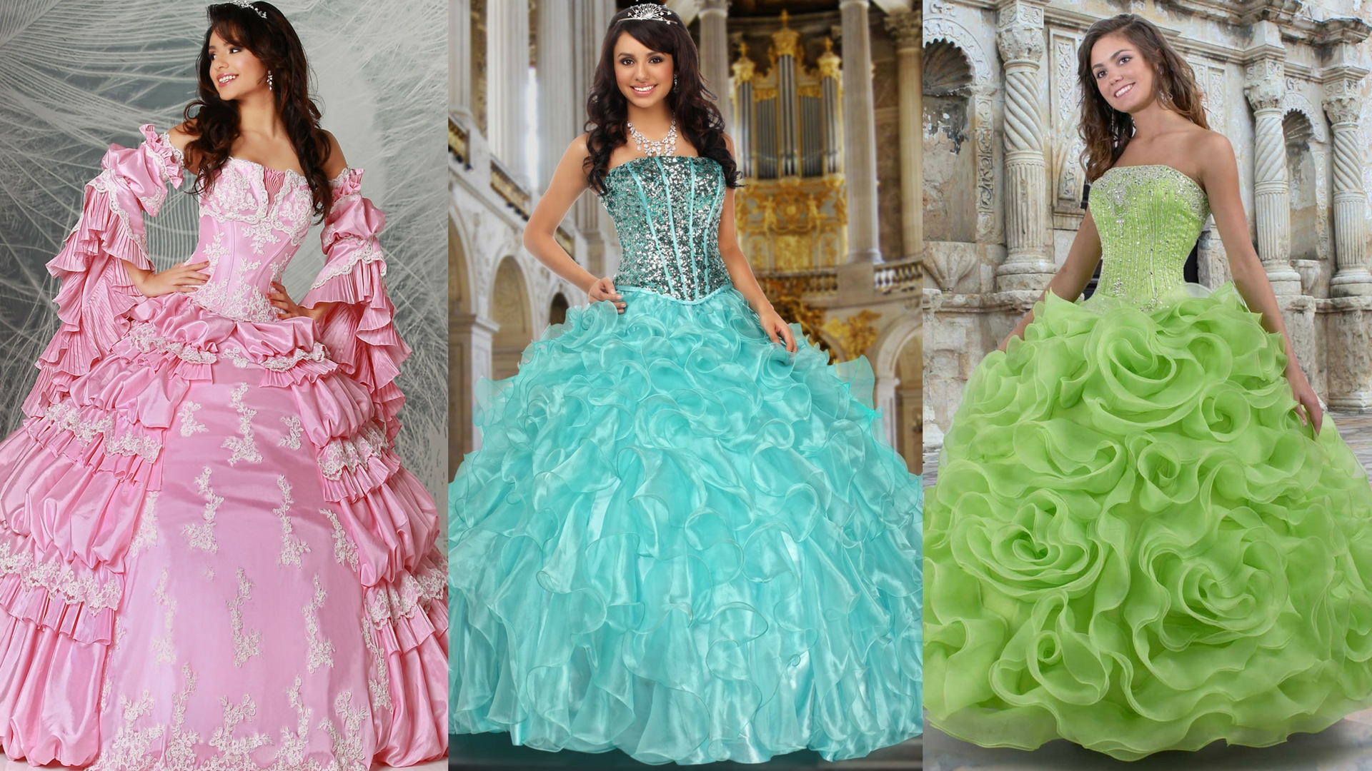 Strapless & Sweet: Modest Quinceanera Gowns with a Straight-Across Bodice